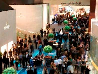 Baselworld Hall of Dreams - Rolex Watches and Swatch Group