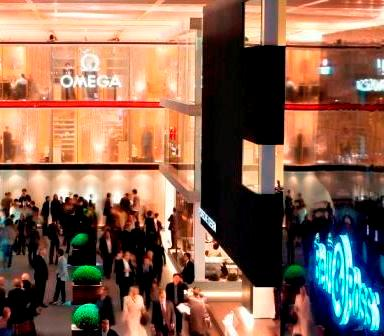 Baselworld Hall of Dreams - Omega Watches and Bell & Ross Watches