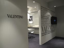 Glamorous Interior of Valentino Timeless at Baselworld 2011 Hall of Dreams - First Floor