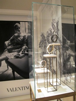 Glamorous Interior of Valentino Timeless at Baselworld 2011 Hall of Dreams - Ground Floor