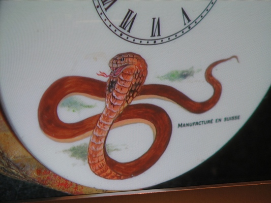 Completed Enamel Dial Painting at Jaquet Droz
