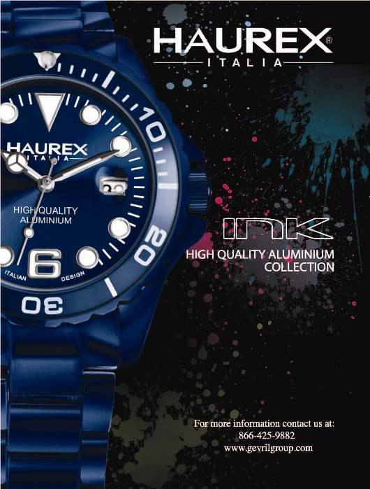 Invitation to the Haurex Exhibit, March 8-15, 2012 at Baselworld 2012, Hall 2.0, Booth C-70