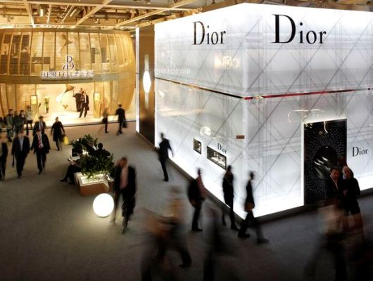 Baselworld Hall of Desires - Bertolucci and Dior Watches