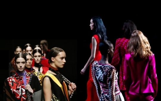 Prada and DVF Fall 2014 Women's Fashion Runway Shows