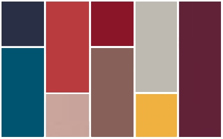 Fall 2014 Fashion Color Palette