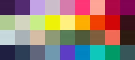 Summer 2014 Color Palette
