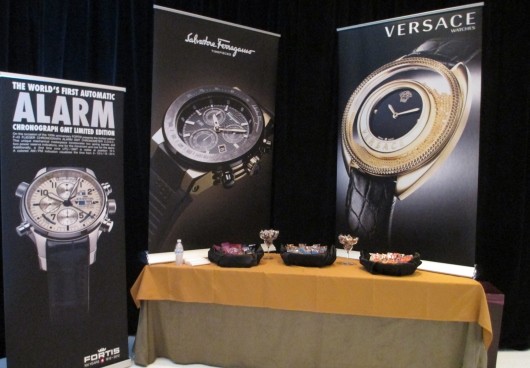 Fortis, Ferragamo and Versace Couture Time 2012 Banners