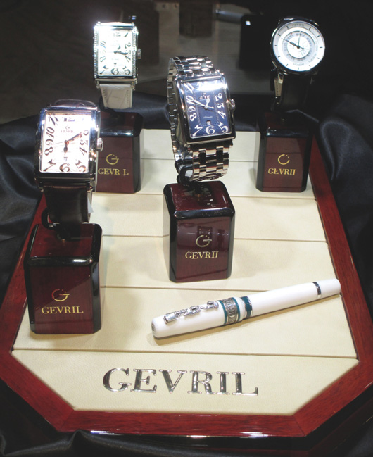 Gevril Couture Time Exhibit