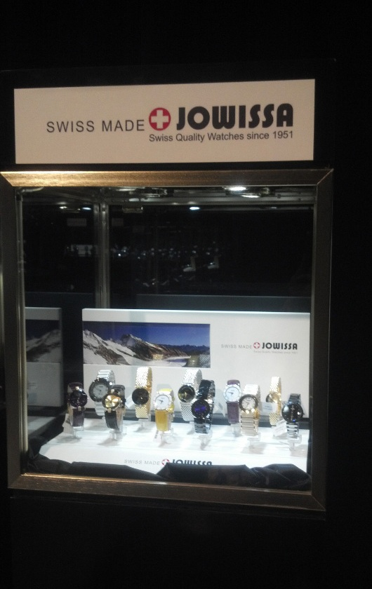 Gevril Group Jowissa Display at Couture Time 2012