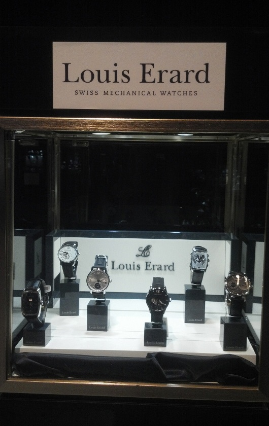 Gevril Group Louis Erard Display at Couture Time 2012