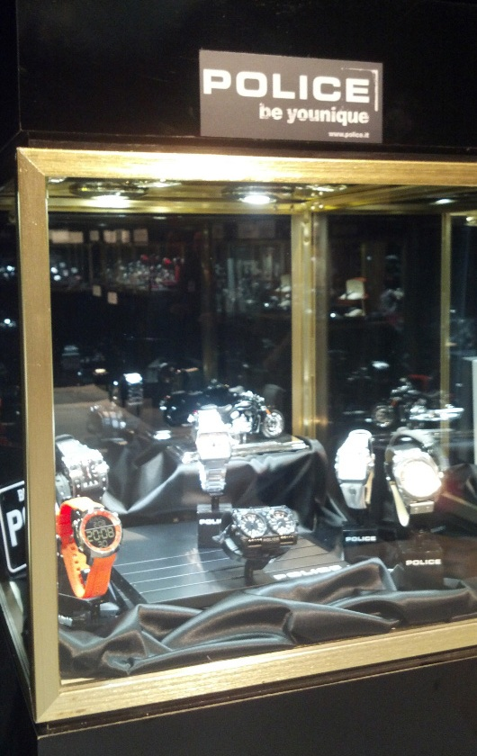 Gevril Group Police Display at Couture Time 2012