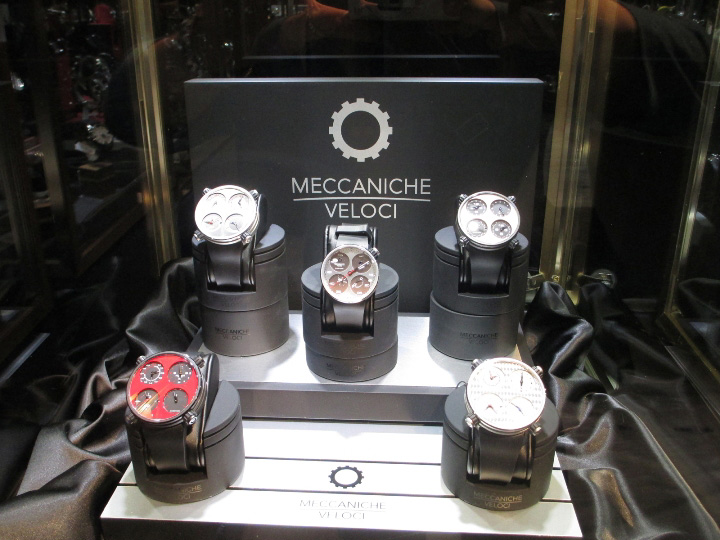 Meccaniche Veloci Couture Time Exhibit