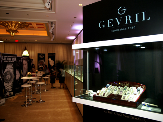 Gevril Exhibit at Couture 2013