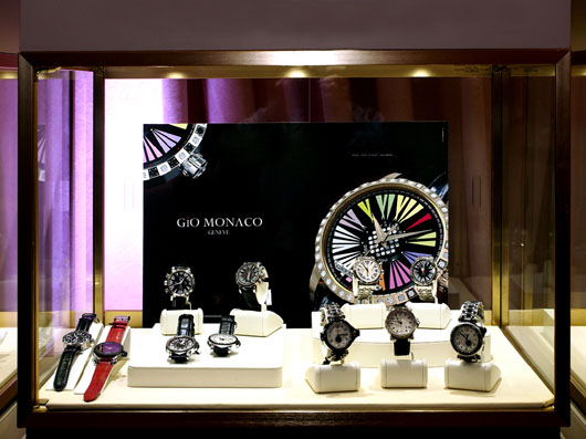 Gio Monaco Couture 2013 Display