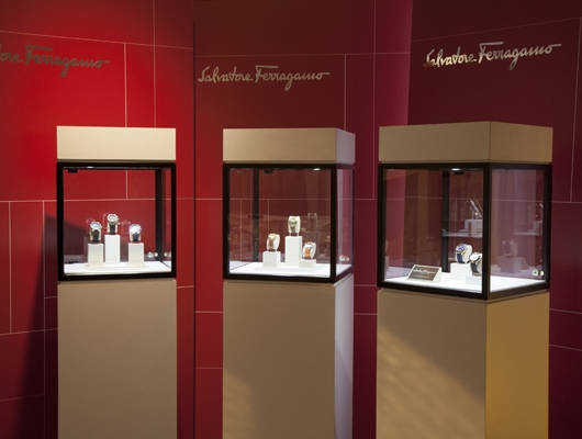 Ferragamo Exhibit at Couture 2014