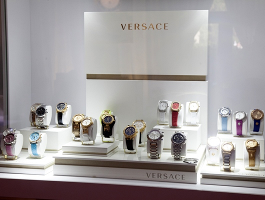 Versace Display at Couture 2014