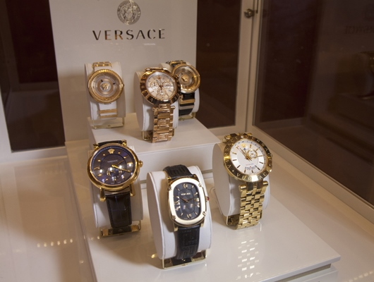 Versace Watches on Display at Couture 2014