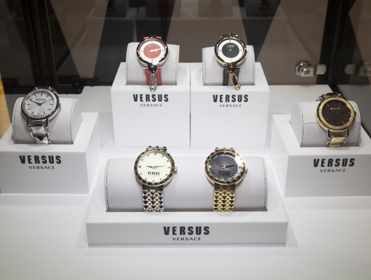 Versus Watches on Display at Couture 2014