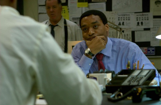 Chiwetel Ejiofor Wearing a Gevril Watch in Inside Man
