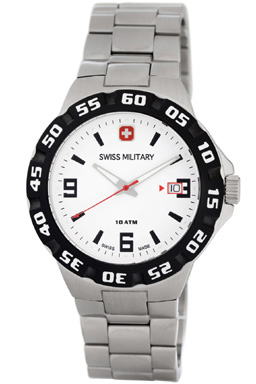 Swiss Military Calibre Racer - 06-5R1-04-001 - $330
