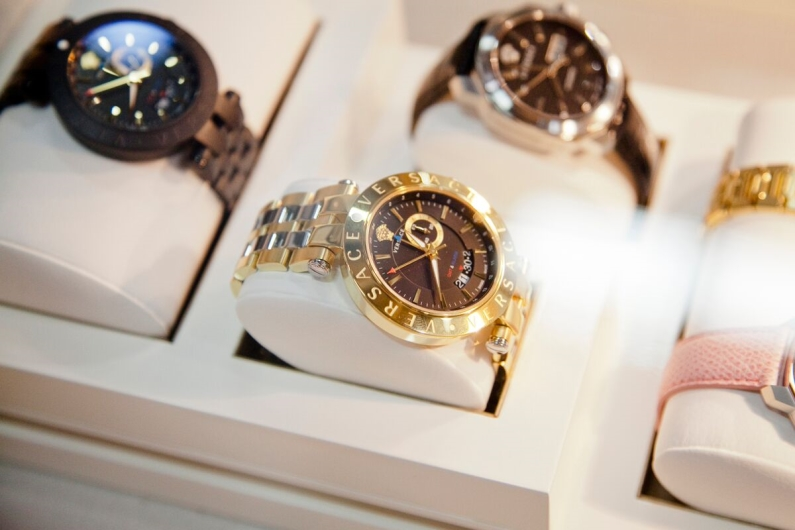 Versace V-Race GMT Watches at JCK Las Vegas