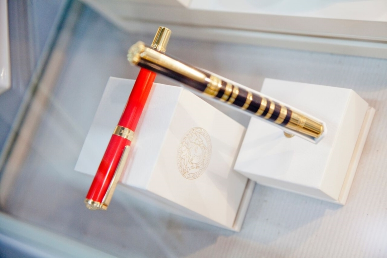 Versace Writing Instruments at JCK Las Vegas