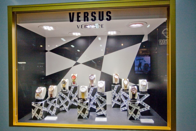 Versus Watches Display at JCK Las Vegas