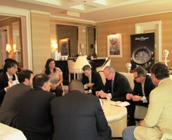 Gevril Group Meeting with Buyers at Las Vegas 2011
