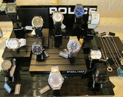 POLICE Watches and Jewelry at Las Vegas 2011