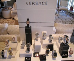 Versace Watches at Las Vegas 2011
