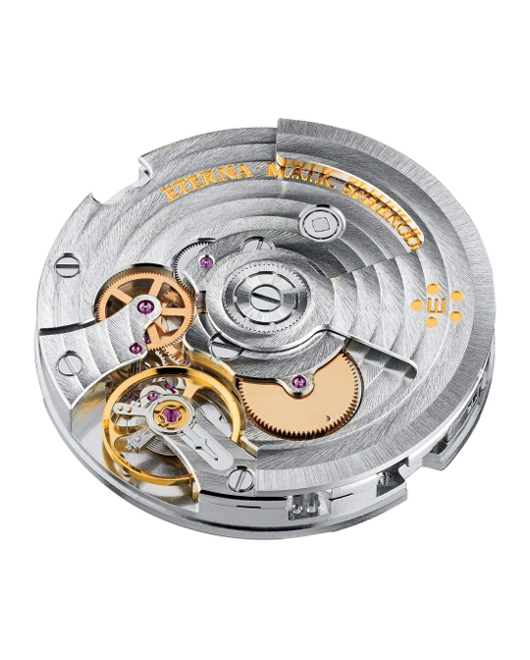 Eterna Spherodrive Calibre 3843 Automatic Movement