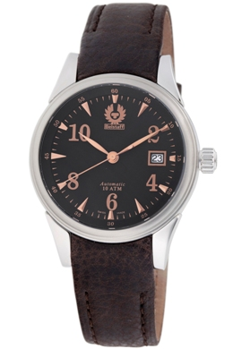 Belstaff Mens BLF1001BB Vintage Collection Black Dial Watch