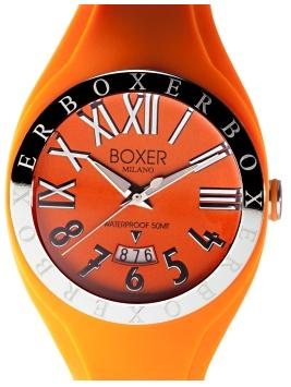 Boxer Milano 40 Steel Bezel Collection - BOX 40 ORANGE