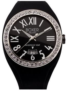 Boxer Milano 40 Zirconia Bezel Collection - BOX 40Z BLACK