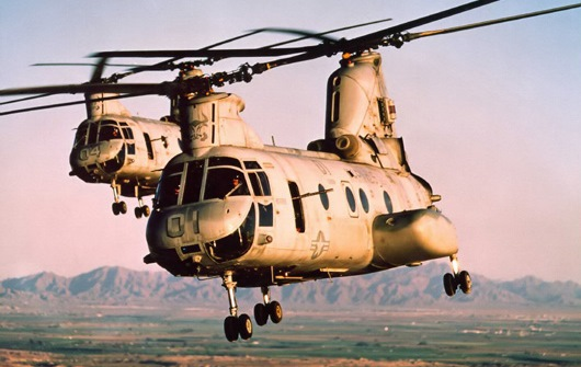 Boeing Sea Knight Helicopters