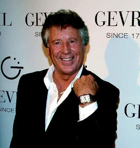 Mario Andretti Wearing a Gevril 5150