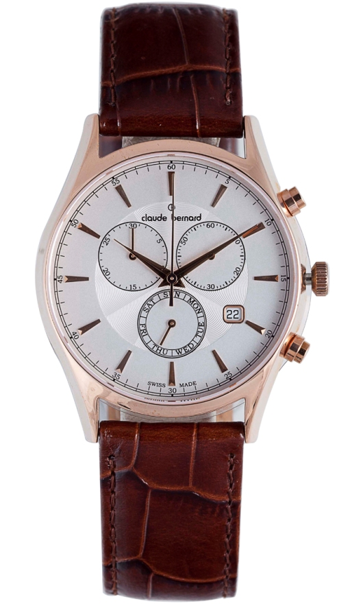 Claude Bernard Chronograph Watches - 13003 37R AIR Mens Classic