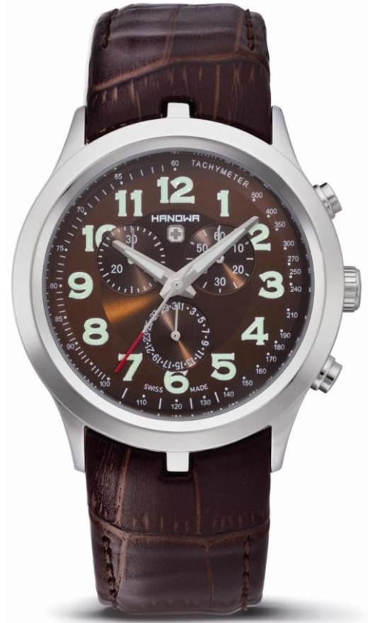 Hanowa Chronograph Watches - 16-4004.04.005 Mens Wimbledon