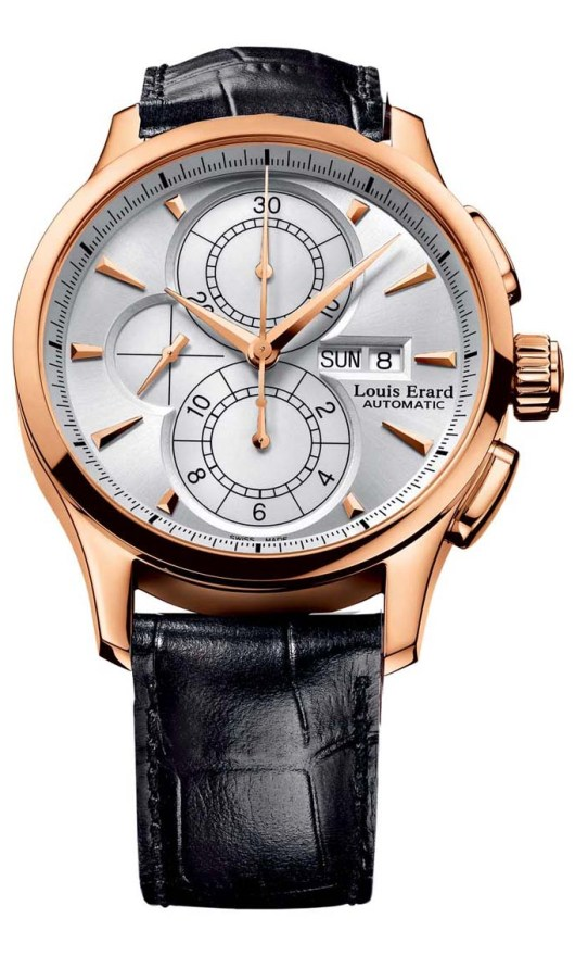 Louis Erard Chronograph Watches - 79220OR11.BAC51 Mens 1931
