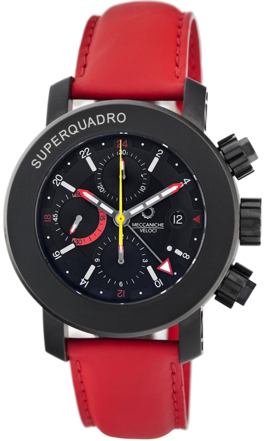 Meccaniche Veloci Chronograph Watches - W307SR_250 Mens Super Quadro