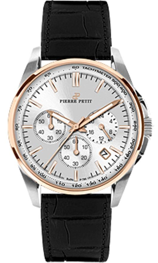 Pierre Petit Chronograph Watches - P-786B Mens Serie Le Mans