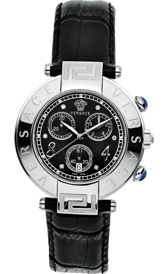 Versace Chronograph Watches - 68C99SD009 S009 Ladies Reve