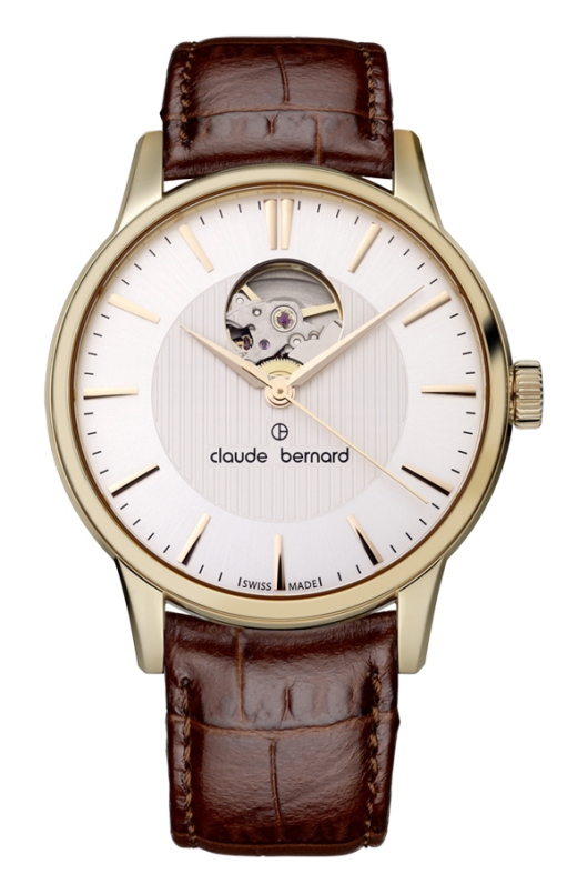 Claude Bernard Classic Automatic Open Heart 85017 37R AIR