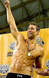 Matt Grevers after Winning the Missouri Grand Prix and a Succsefull Proposal