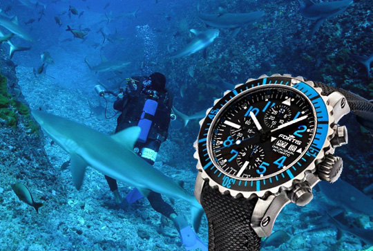 Diver Watches - Fortis Marinemaster 670.15.45