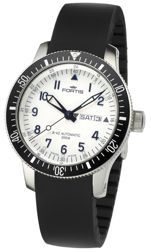 Fortis Diving Watches - 648.10.12 K Mens B-42 Diver