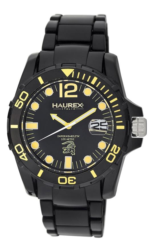 Haurex Italy Diver Watches - N7354UNB Mens Caimano
