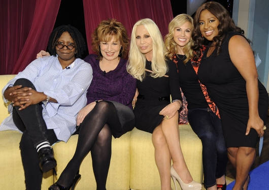 Donatella Versace On The View