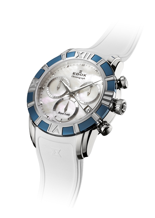 Edox Royal Lady Chronograph 10405 357B NAIN