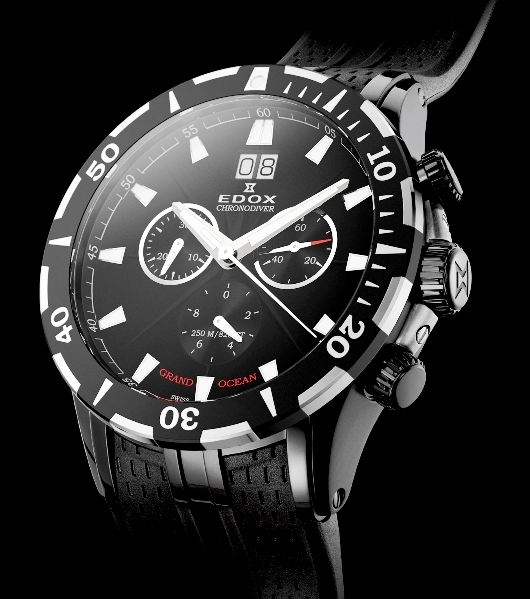 Edox Grand Ocean Chronodiver Introduced at Baselworld 2012